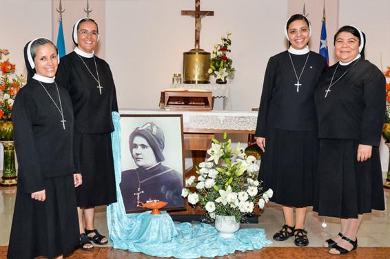 Foto Irmãs da Delegação Latino-Americana Sagrado Coração de Jesus